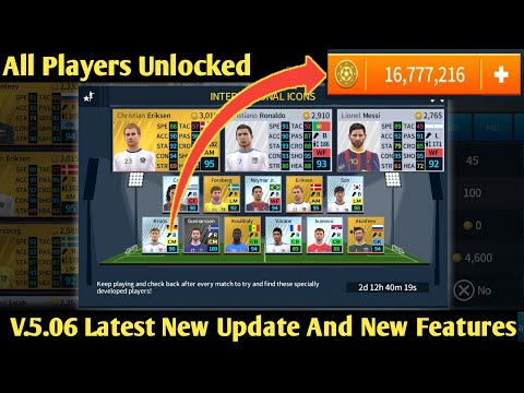 How To Download DLS 2018 V 5 06 Apk And Data ⚽ All Players