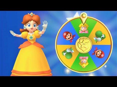 Mario Party 10 - Haunted Trail - Daisy Gameplay