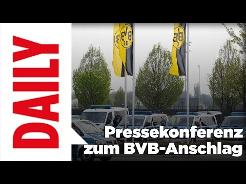 Bomben am BVB-Bus / Pressekonferenz zum Anschlag - BILD-Daily Spezial 12.4.2017 (2/2)