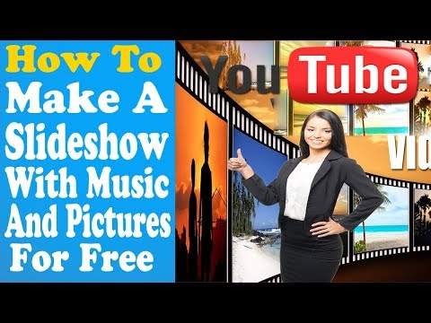 How To Make A Slideshow With Music And Pictures For Free