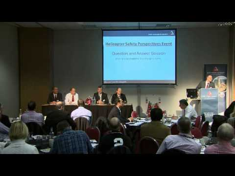 Helicopter Safety Event - Q&A Panel led by Les Linklater