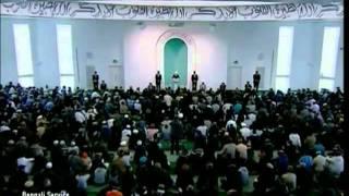 Prayers for Muslim Ummah & Khilafat Islam Ahmadiyya 25 02 2011 anglais clip1