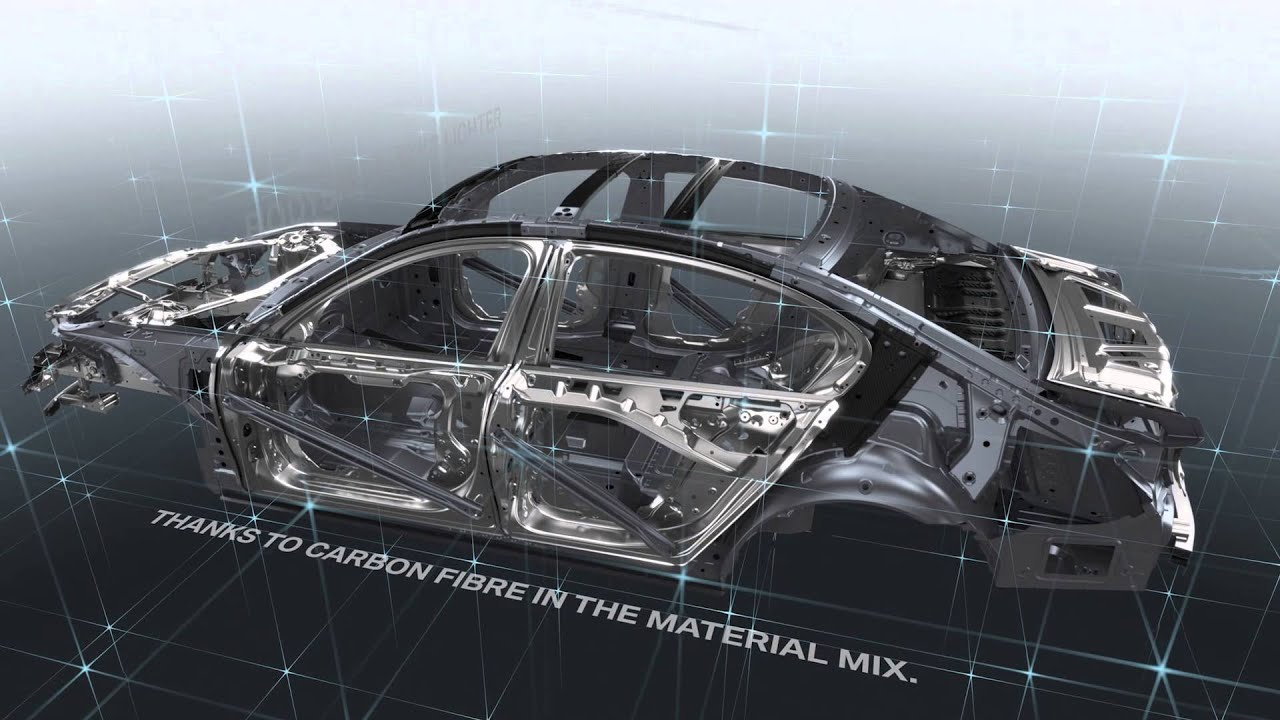 Bmw Lightweight Cfrp Carbon Core In New 2016 Bmw 7 Series G11 G12 Youtube