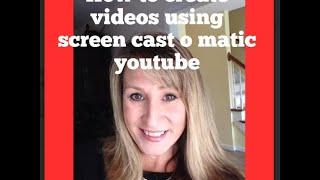 Wie Sie videos erstellen mit Screencast-O-Matic-youtube