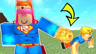 Roblox: GAINING SUPER POWERS CHALLENGE!!!