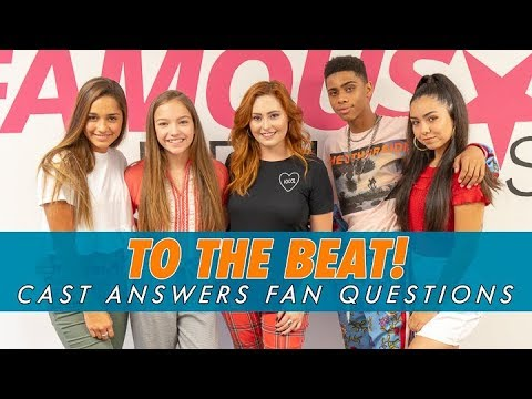 TO THE BEAT! || Cast Answers Fan Questions