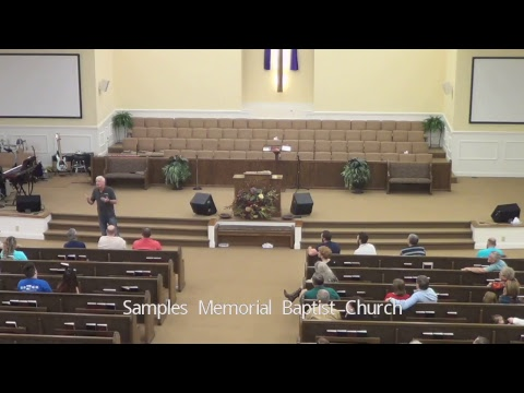 Service - Samples Wednesday Evening Service February 21 , 2018