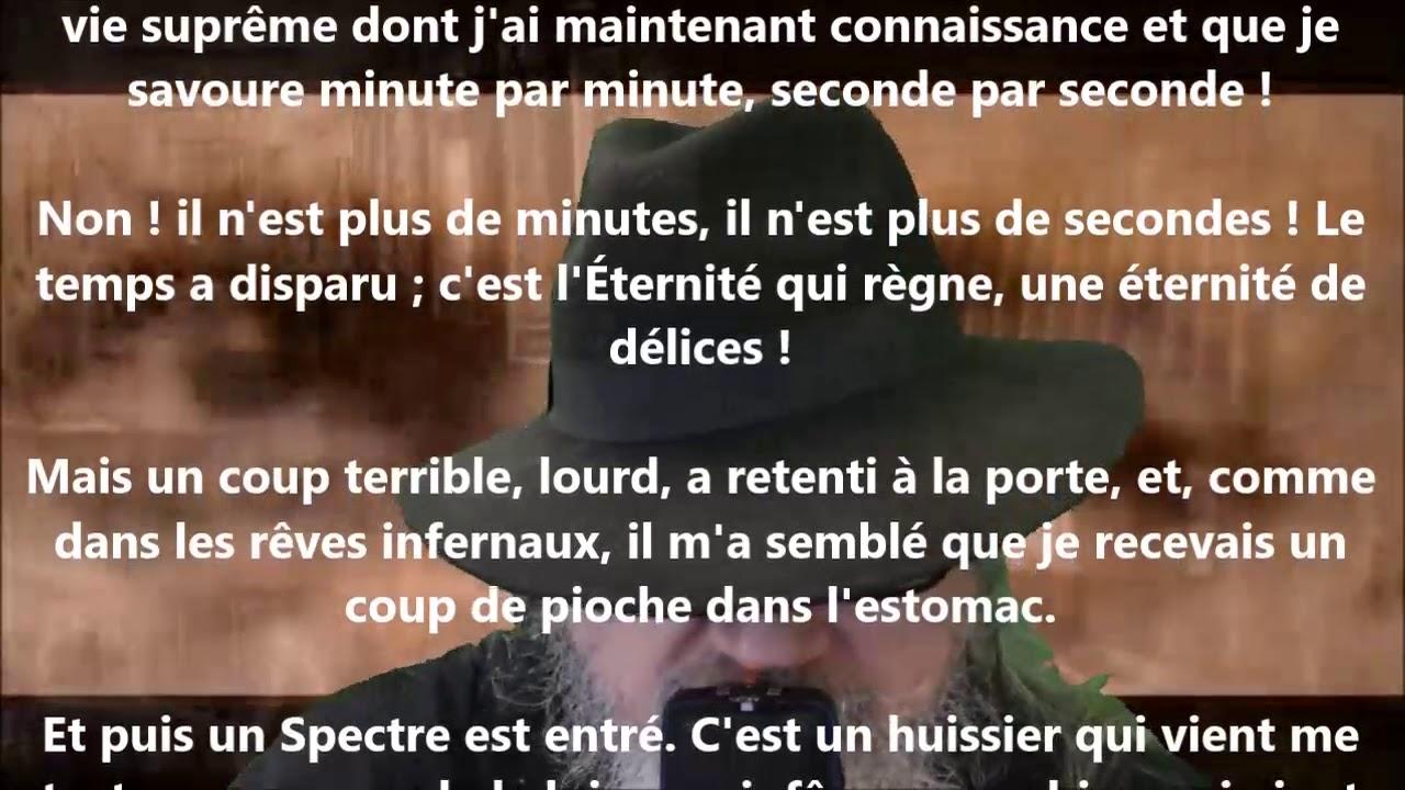 La chambre double - Charles Baudelaire lu par Yvon Jean - YouTube
