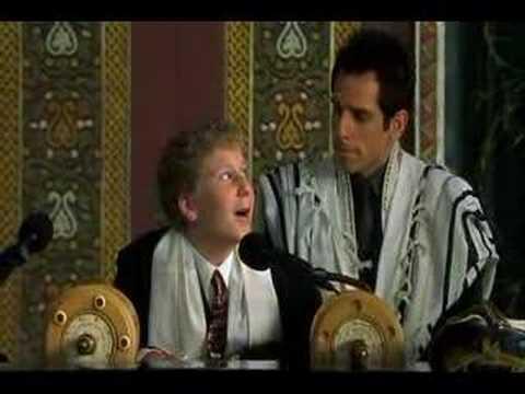 Keeping The Faith -- Bar Mitzvah scene