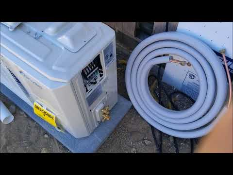 How To Install Senville Ductless Mini Split 9000 BTU 230 Volt Air Conditioner