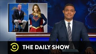 Jeb Bush and the Age of Superheroes: The Daily Show