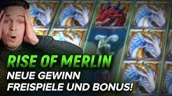 EPISCHER GEWINN in RISE OF MERLIN SLOT! Freispiele und Bonus! Online Casino DEUTSCH 🇩🇪