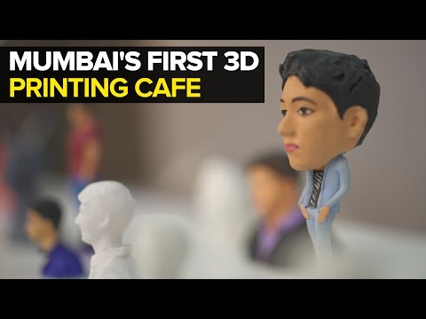 Welcome To Mumbai's First 3D Printing Cafe!