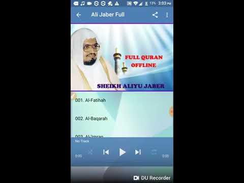 Ali Jaber Full Offline Quran Mp3 - Apps on Google Play