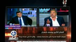 يوسف شعبان: مستوى السينما المصرية انحدر تماما.. فيديو