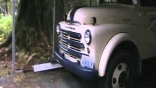 beautifullly restored Dodge 1 5 ton dump