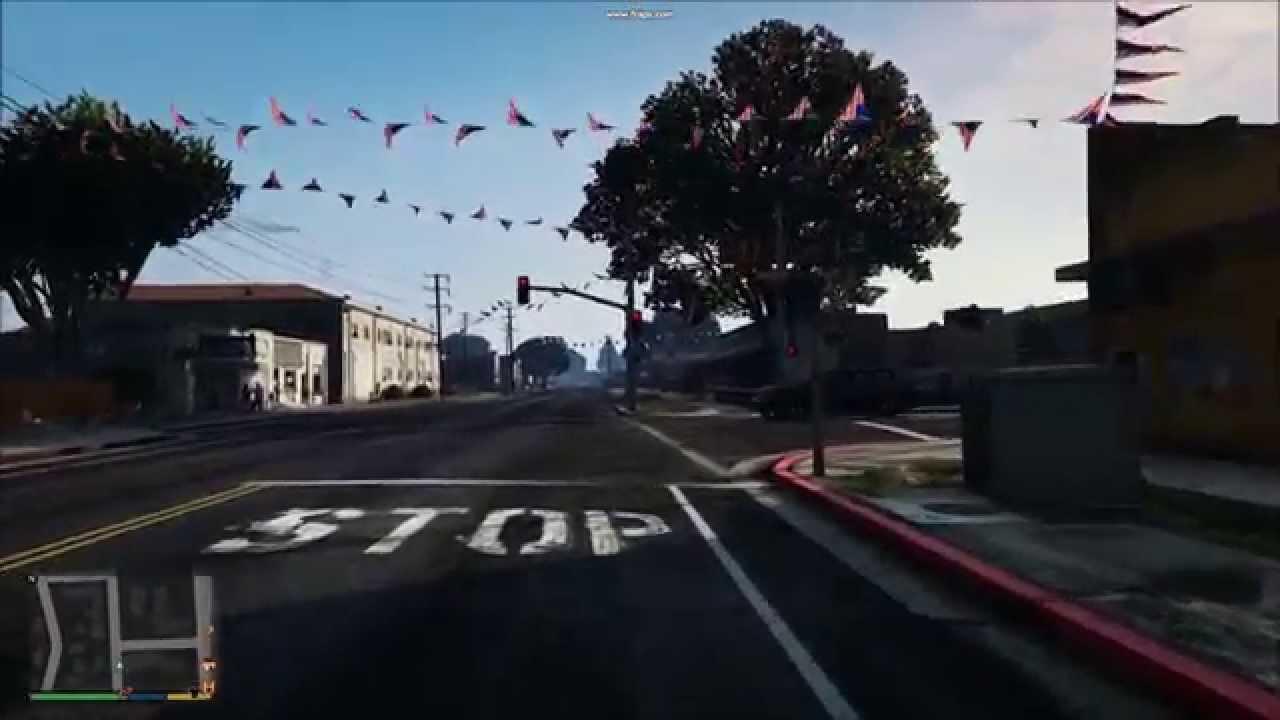 GTA V Aliasing \ shimmering \ textures flickering (All games)