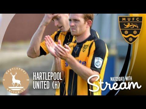 Hartlepool United Vs Maidstone United (02/09/17)