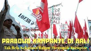 Prabowo Subianto Kampanye di Bali