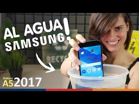 GALAXY A5 2017 | UNBOXING HÚMEDO!