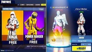 "How To Get RAREST ""NINJA"" SKIN FREE in Fortnite! (FREE RAREST SKINS FORTNITE BATTLE ROYALE)"
