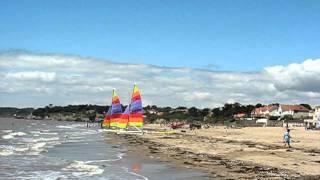 La Bernerie en Retz, France : grande plage