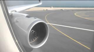 Qatar A350-900XWB   Takeoff   DOH-SIN   Business Class