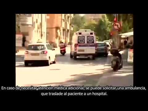 CANAL 10 DE ISRAEL REPORTA SOBRE LAS UNIDADES AMBUCYCLES DE HATAZLAH ISRAEL