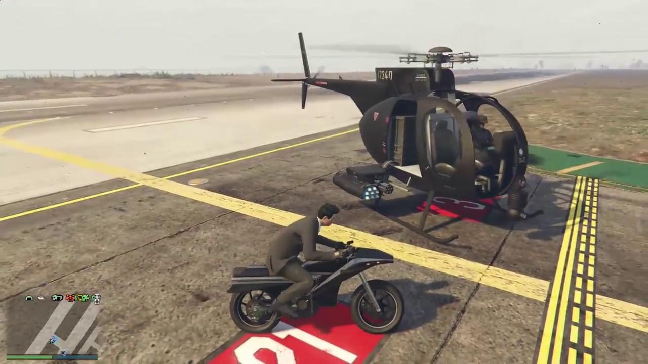 Gta 5 Gunrunning Dlc  Pegassi Oppressor  Rocket Bike  Vs