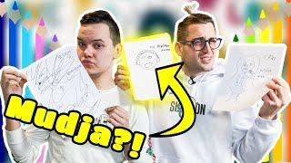 Pogodi balkanskog youtubera po crtežu! | 8rasta9 & Luciano