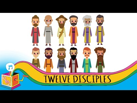 The Twelve Disciples  Childrens Christian Song