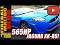 Fireball drives the 565HP #JAGUAR #XKRS! - FMV552