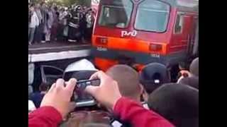 Авария на станции Щербинка 26 08 2013