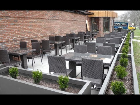 Commercial Outdoor Furniture Restaurants Ideas - YouTube