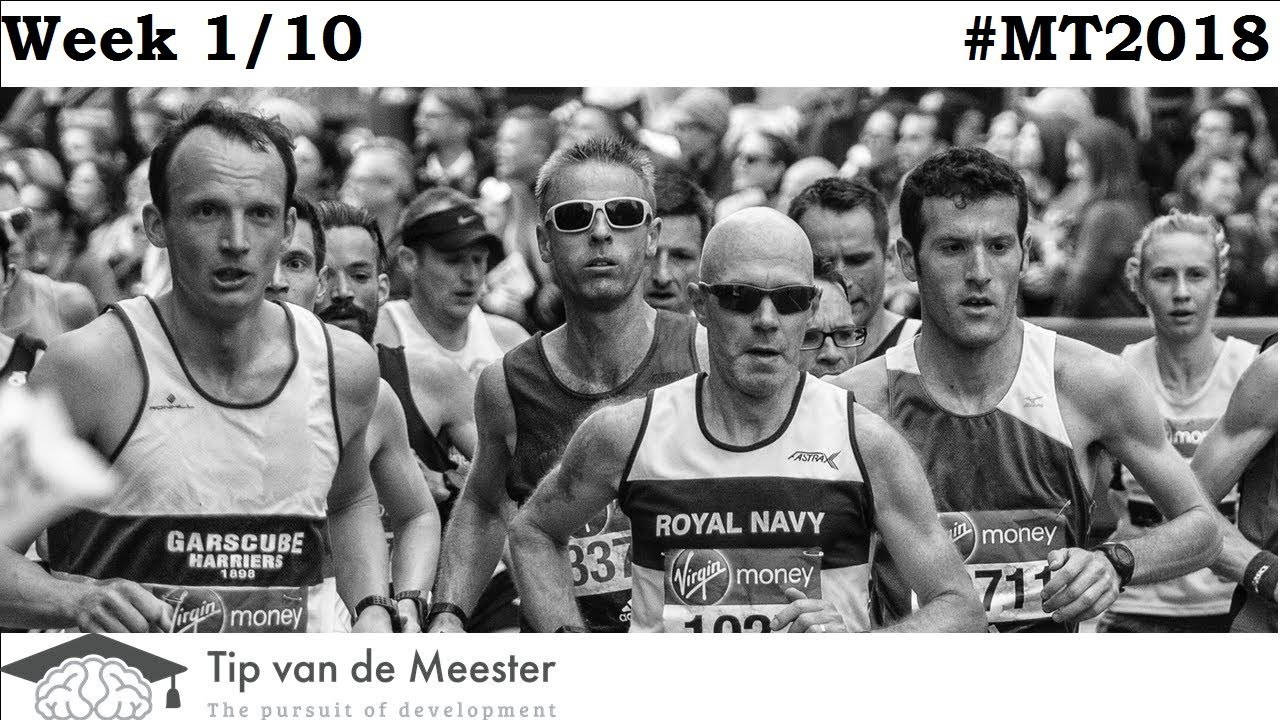 Tilburg Marathon | Training on a Plant based Diet | WEEK 1 | #MT2018