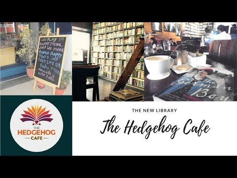 The New Library  The Hedgehog Cafe