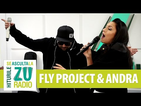 Fly Project & Andra - Butterfly (Live la Radio ZU)