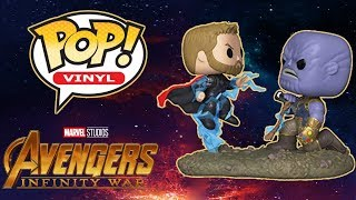 Funko Pop! Avengers: Infinity War: Thor Vs. Thanos Movie Moments Unboxing