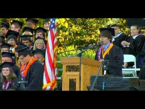 The Best Graduation Speech EVER!