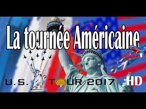 Patrouille de France - La tournée Américaine - [Replay JUILLET 2017 C8TV]