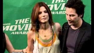 2006 Sandra Bullock and Keanu Reeves at the 2006 MTV Movie Awards June 3, 2006