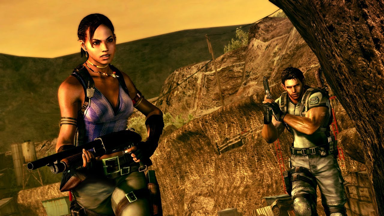 """""""Resident Evil 5"""" Longbow challenge funzies with Bruh ..."""