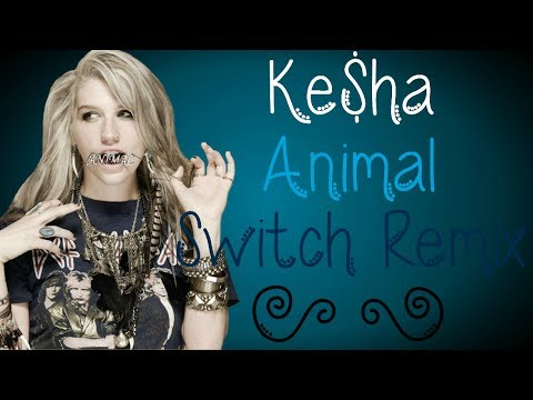 Ke$ha - Animal [Switch Remix] (lyrics on screen)