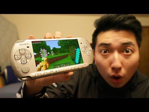 MINECRAFT PSP EDITION GAMEPLAY!!