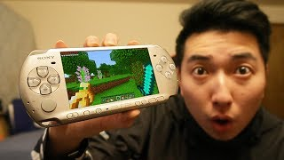 MINECRAFT PSP EDITION GAMEPLAY!!