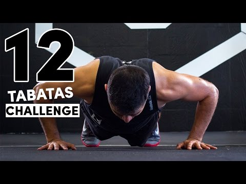 12 Days of Christmas Workout - Tabata Challenge
