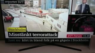 Terrror attack in Stockholm Sweden 7 april 2017