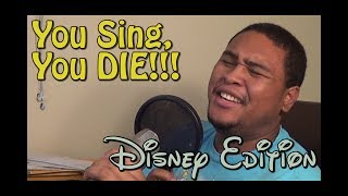 If You Sing, You Lose Challenge Disney Edition