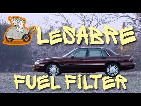How to Replace a Fuel Filter in a Buick Lesabre