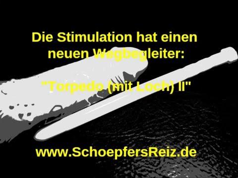 SchoepfersReiz.de - 22,5/1,3 cm Torpedo II (mit Loch) - Urethral Sounding